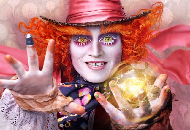 5 Alice Through the Looking Glass Character Posters Released.