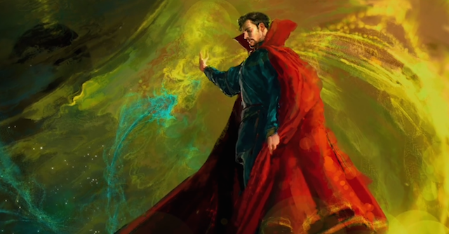 Take a look at some Doctor Strange concept art!