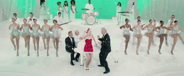 A Very Murray Christmas.Very Murray Christmas Trailer Yes Even George Clooney Sings
