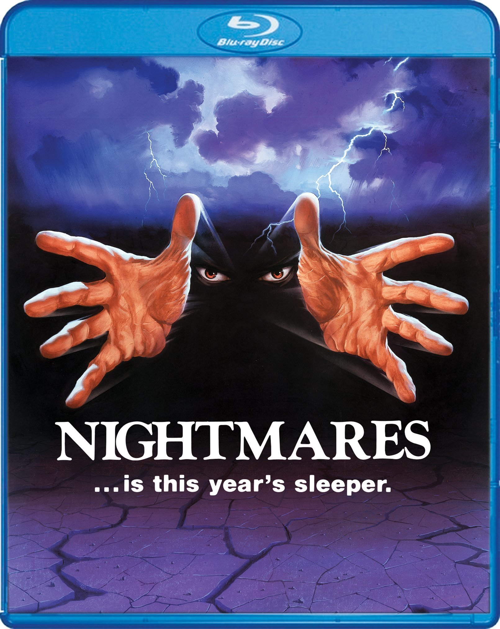 Nightmares (1983) foreign VHS box art   Horror movie art  Horror Movie Nightmares