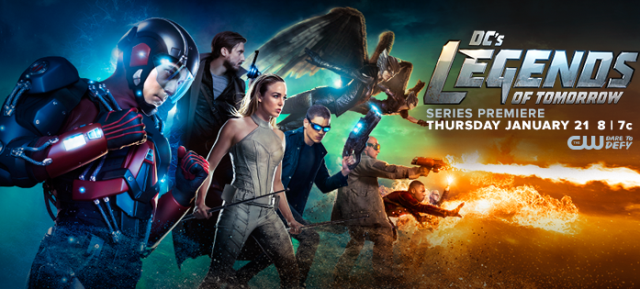 Meet the Legends in New DC's Legends of Tomorrow Character Posters!