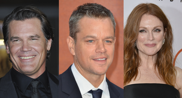Is this George Clooney's Suburbicon cast?