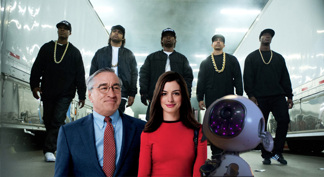 Straight Outta Compton, The Intern and Jem and the Holograms all arrive January 19, 2016.