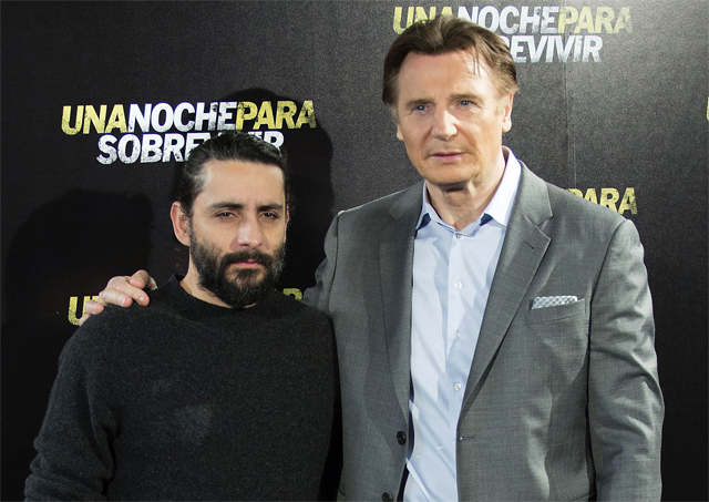 The Commuter cartel de la película