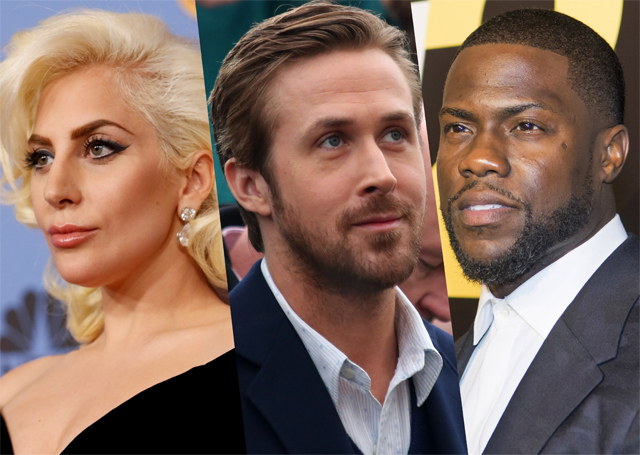 Oscar Presenters Include Lady Gaga, Kevin Hart and More