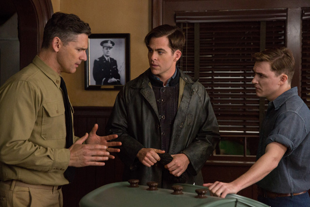 The Finest Hours Set Visit: Chris Pine Leads a Crew Through a Real High Seas Nightmare.