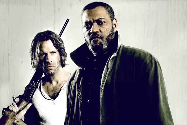 Standoff Trailer Premiere: Laurence Fishburne and Thomas Jane Star in the Thriller.