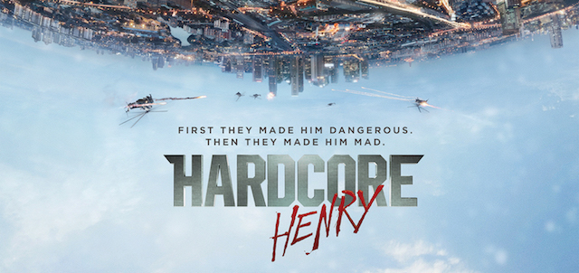 Check Out the Hardcore Henry Movie Poster