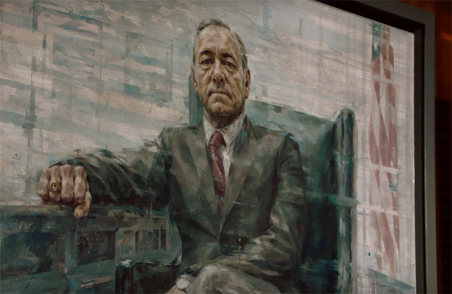 House of Cards Season Four Clip Reveals a Presidential Portrait
