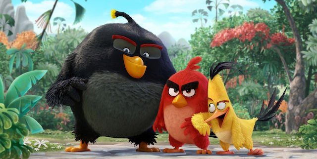 "CS gets a ""sneak beak"" straight from The Angry Birds movie cast."