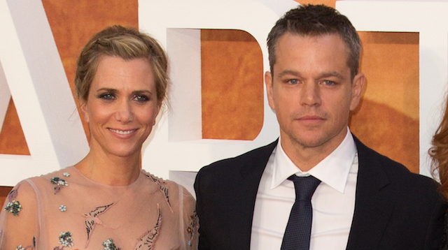 Kristen Wiig and Matt Damon will reteam for Alexander Payne's Downsizing movie.