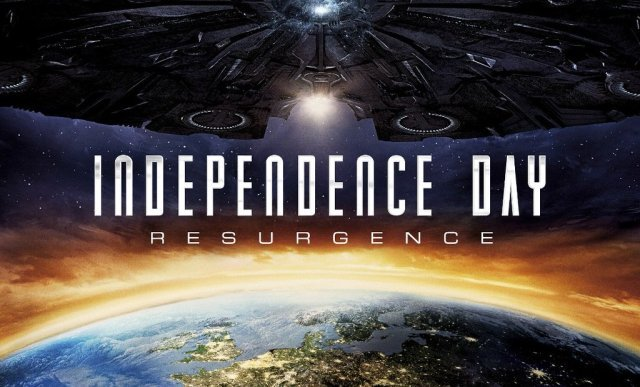 The Aliens are Back in New Independence Day: Resurgence International Poster