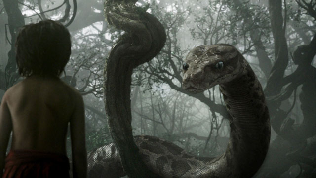 Kaa is one of the most terrifying of the Jungle Book characters if you've got a fear of snakes.