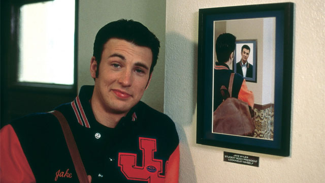 The Chris Evans movies spotlight begins with Not Another Teen Movie.