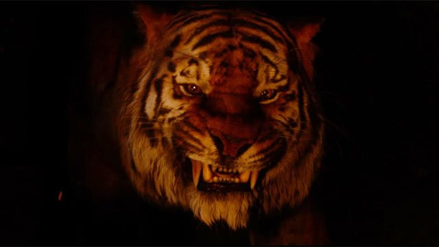The mighty Shere Khan is one of the Jungle Book character that does not like mankind!