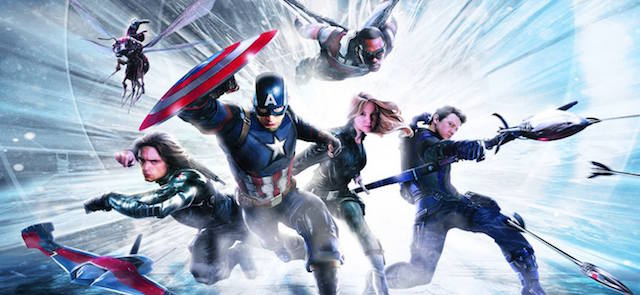 Check out behind the scenes Captain America: Civil War footage.