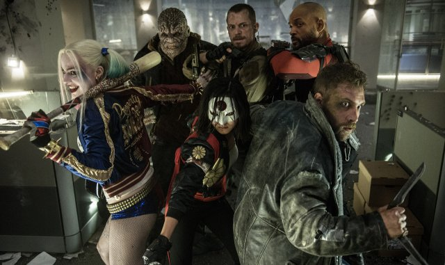 The Suicide Squad Assembles on The Pitch in International Promo