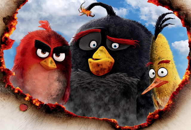 New Angry Birds Movie Poster is Burning With Rage