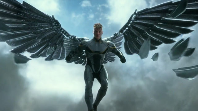 The X-Men Apocalypse characters list includes Archangel.