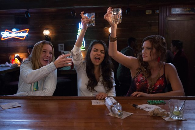 First Bad Moms Photos Feature Mila Kunis & Co. Partying Down
