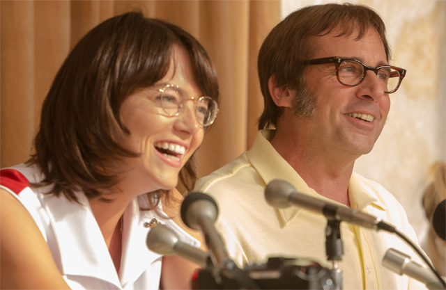 It's Emma Stone v Steve Carell in the Battle of the Sexes Trailer