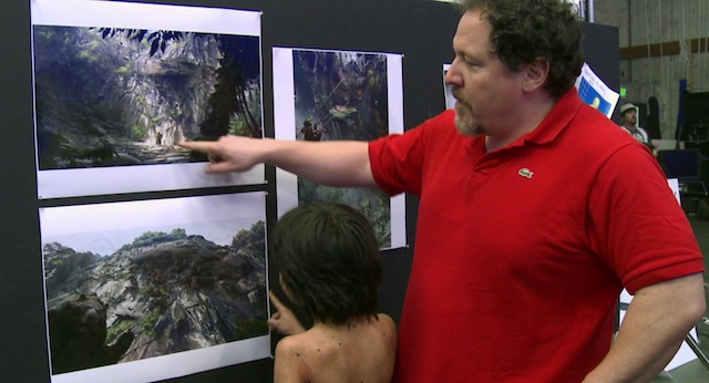 Watch new interviews with Jon Favreau and Neel Sethi.
