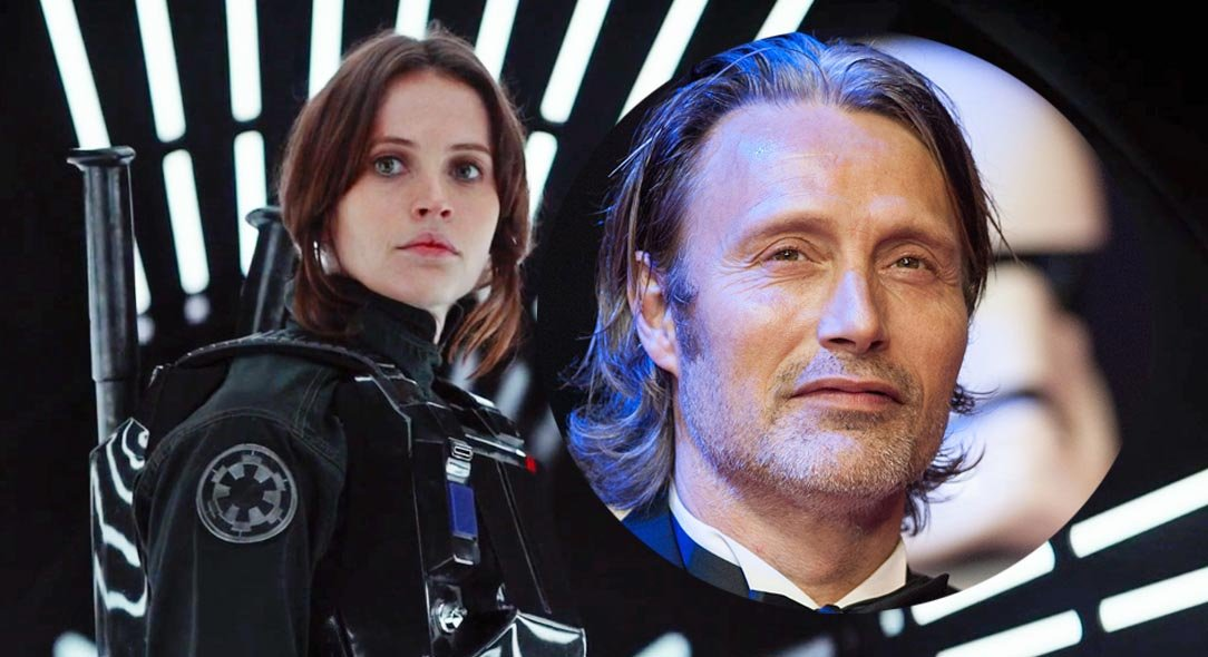 Mads Mikkelsen reveals his Rogue One role.