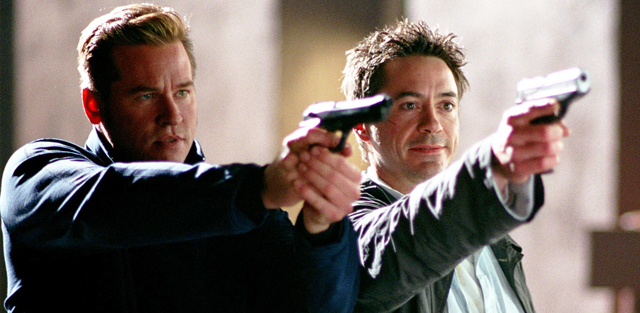 The Robert Downey Jr movies list includes Shane Black's Kiss Kiss Bang Bang.