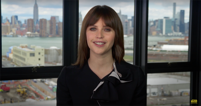 New Force For Change Video Featuring Rogue One Star Felicity Jones