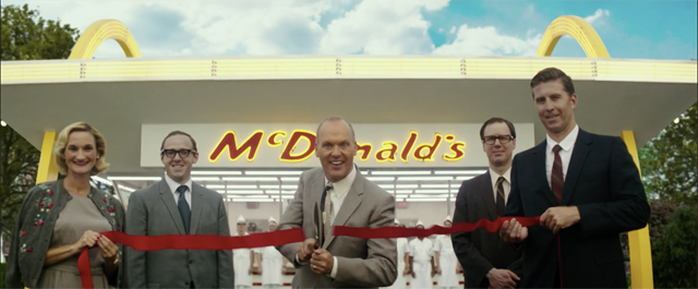 The Founder Trailer: Michael Keaton Cheats the McDonald's Brothers