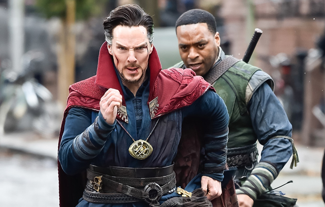 20 More Photos from the Doctor Strange Set!
