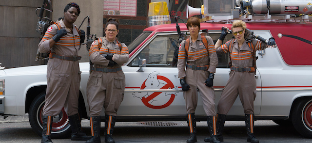Ghostbusters was featured in the Sony Pictures presentation.