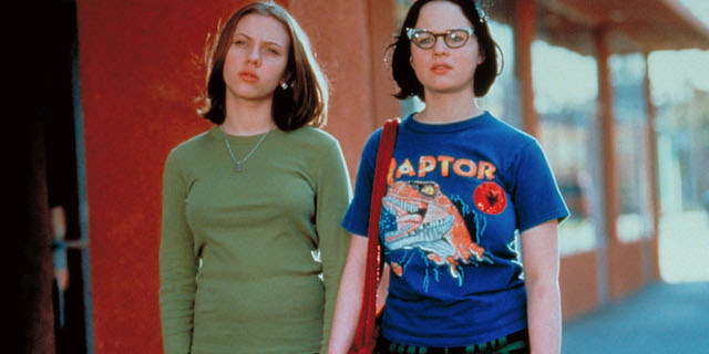Ghost World is among the earliest Scarlett Johansson movies.