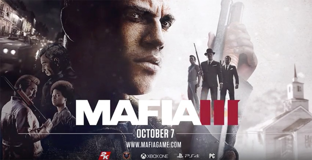 Mafia III Trailer and Release Date Revealed!
