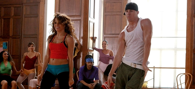 One of the first Channing Tatum movies is the first Step Up.