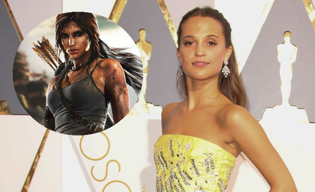 Alicia Vikander to play Lara Croft