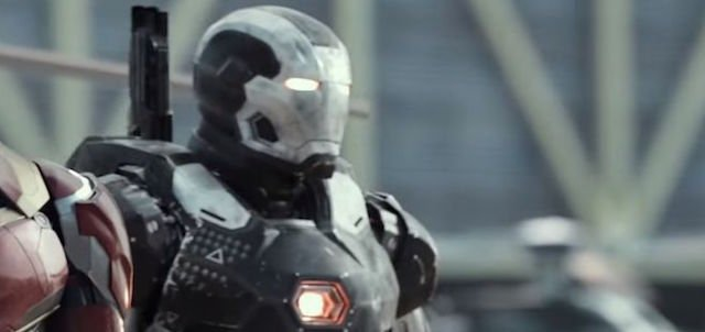 War Machine is another of the featured Civil War characters.