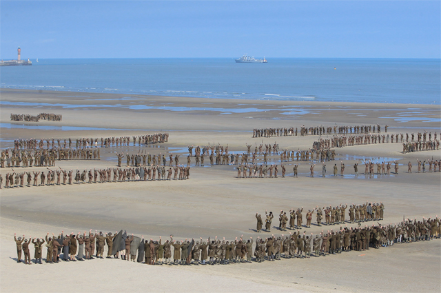 More Epic Dunkirk Set Photos From Christopher Nolan's WWII Story