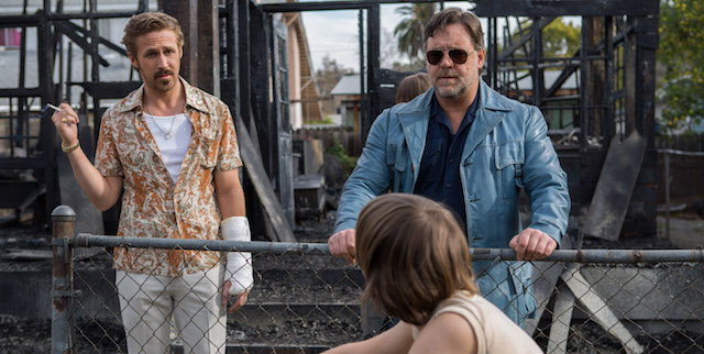 The Nice Guys is written and directed by Shane Black.