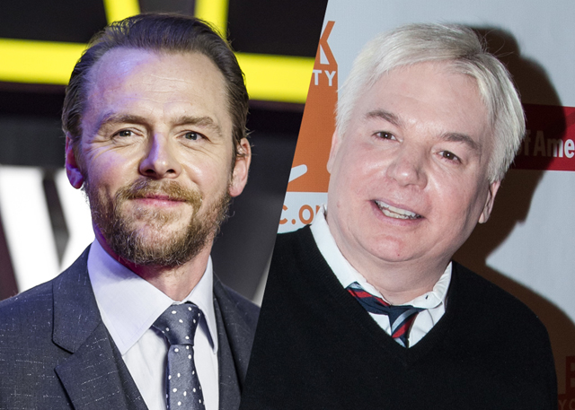 Simon Pegg & Mike Myers Join Margot Robbie in Terminal