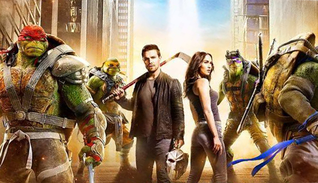 A New Teenage Mutant Ninja Turtles: Out of the Shadows Poster