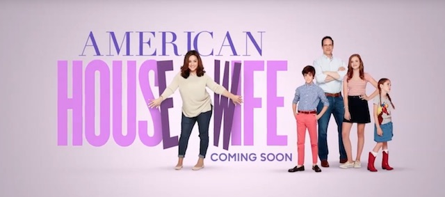 American Housewife is another of the new ABC 2016 series.