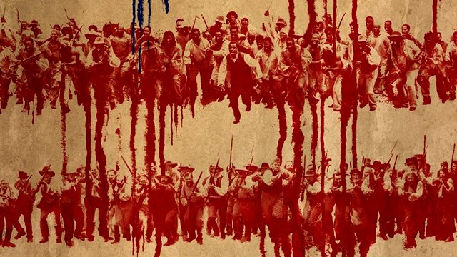 America bleeds on a new Birth of a Nation poster.