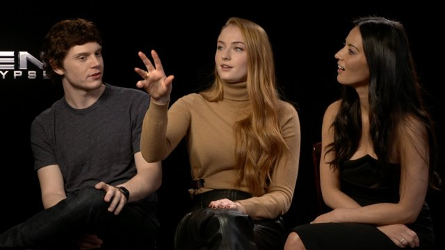CS sits down with X-Men Apocalypse's Evan Peters, Sophie Turner and Olivia Munn.