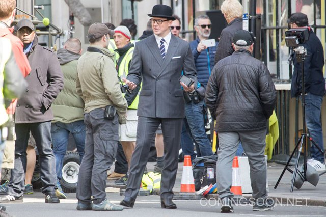 Channing Tatum Spotted Filming Kingsman: The Golden Circle!