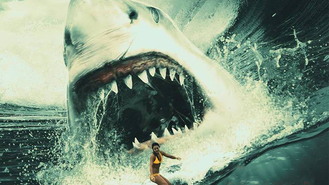 The giant shark movie Meg is coming in 2018.