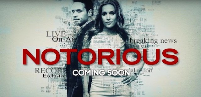 Notorious is another of the new ABC 2016 series.