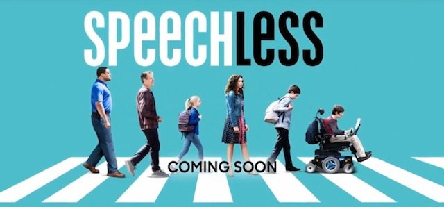 Speechless is another of the new ABC 2016 series.