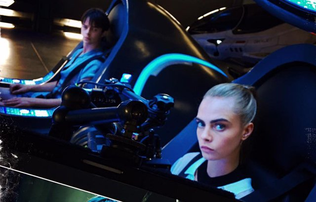 Luc Besson Shares More Valerian Photos from the Set