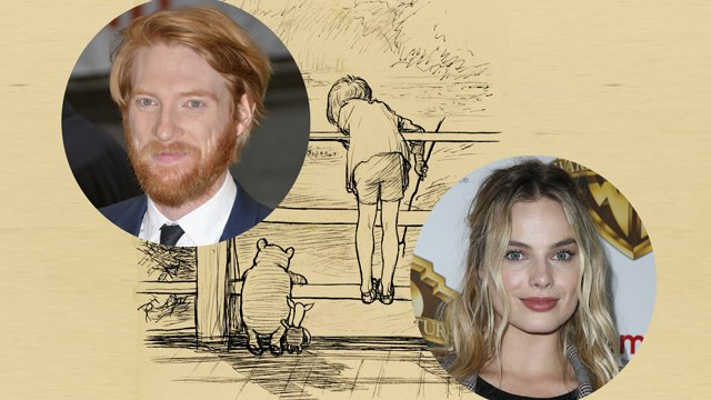 Margot Robbie and Domhnall Gleeson are set to headline Goodbye Christopher Robin.